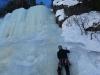 Michal na lodospadzie sektor Krokan