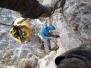 Wojcieszów 2017 -pierwsze jaskinie kursantów