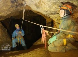 Jaskinie jurajskie – kolejny weekend kursowy