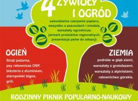 """SGW na pikniku """"4 żywioły"""" – zaproszenie"""
