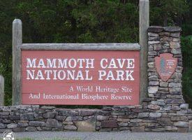 Kolejne metry w Mammoth Cave